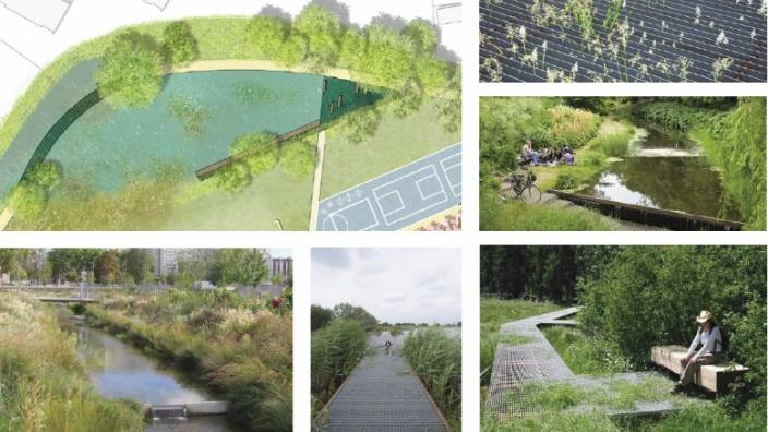 Planentwurf Stöfenpark